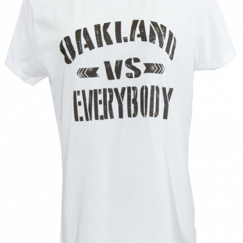 Oakland Vs EVerybody Girl Tee Black