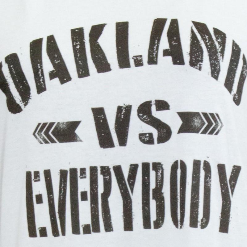 Oakland Vs EVerybody Girl Tee Black2