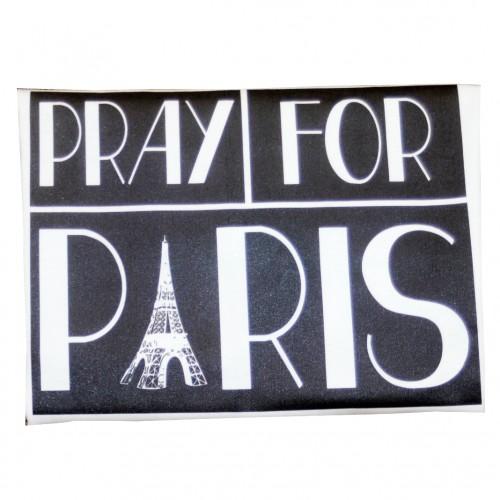 Pray For Paris BW 2