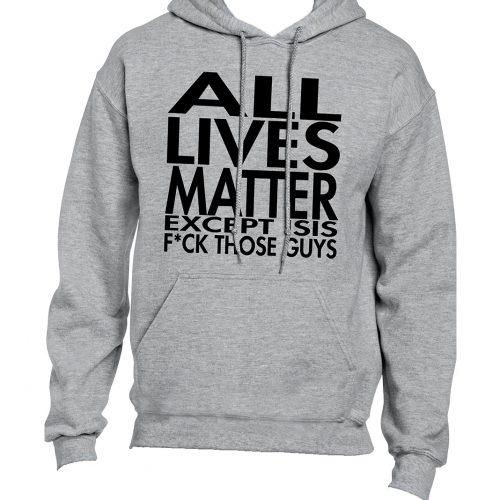 All Lives Matter Hoodie Mockup 2