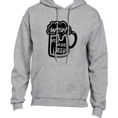 Wish You Were Beer Hoodie Mockup 2