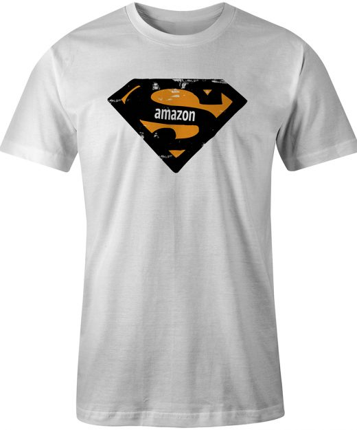 Amazon Super White Tee