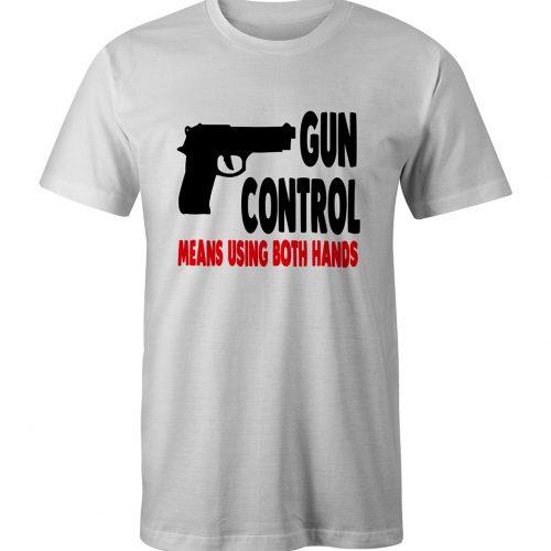 Gun Control White Tee